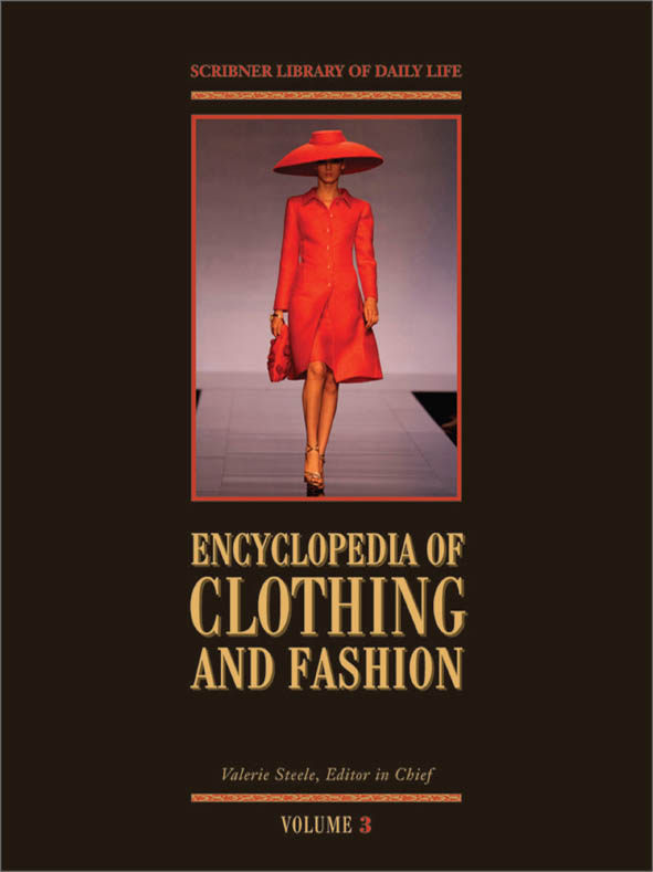 Encyclopedia of Clothing