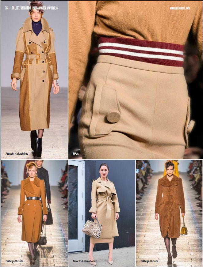 Collezioni Donna prêt-à-porter 174 Milano New York AW 17-18