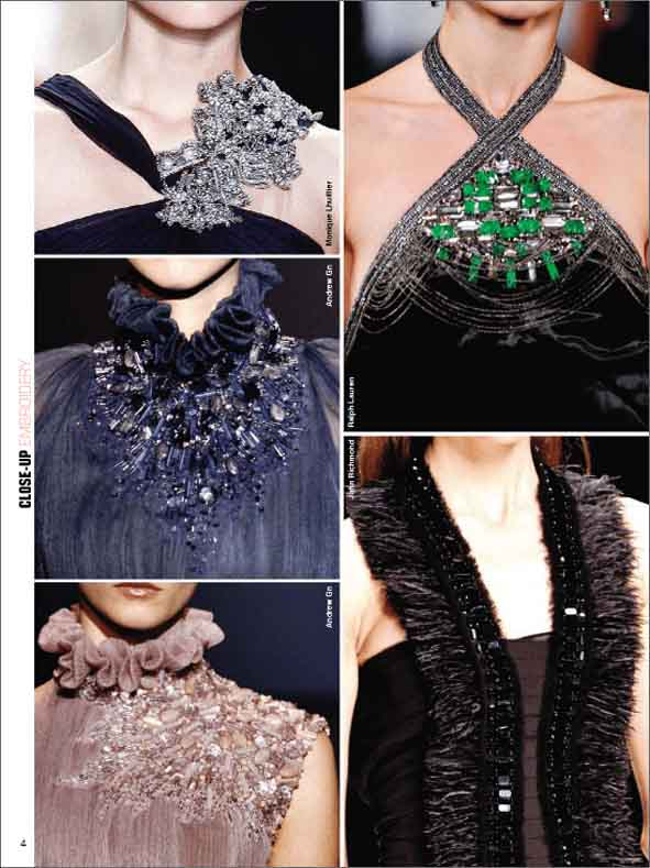 Close-Up Embroidery Women-W 2011-12