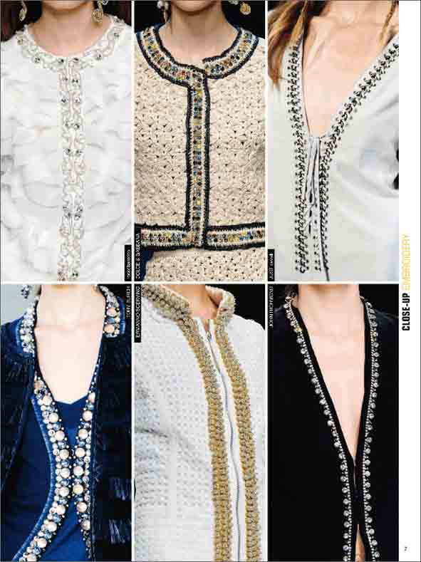 Close-Up Embroidery Women-S/S 2012