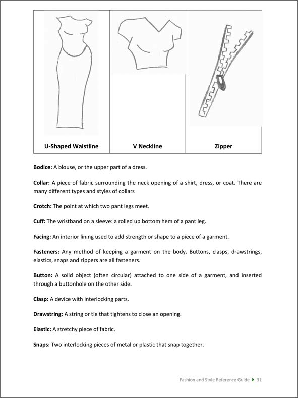 Fashion and Style Reference Guide
