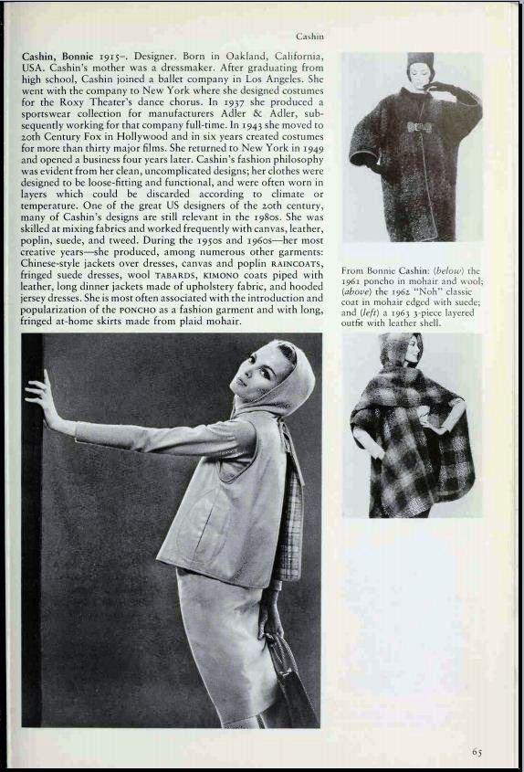 The Encyclopaedia of Fashion