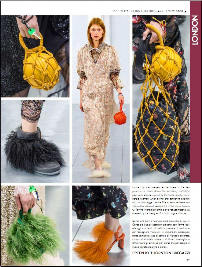 Collezioni Accessori AW 2018-2019 Fashion Shows No. 92