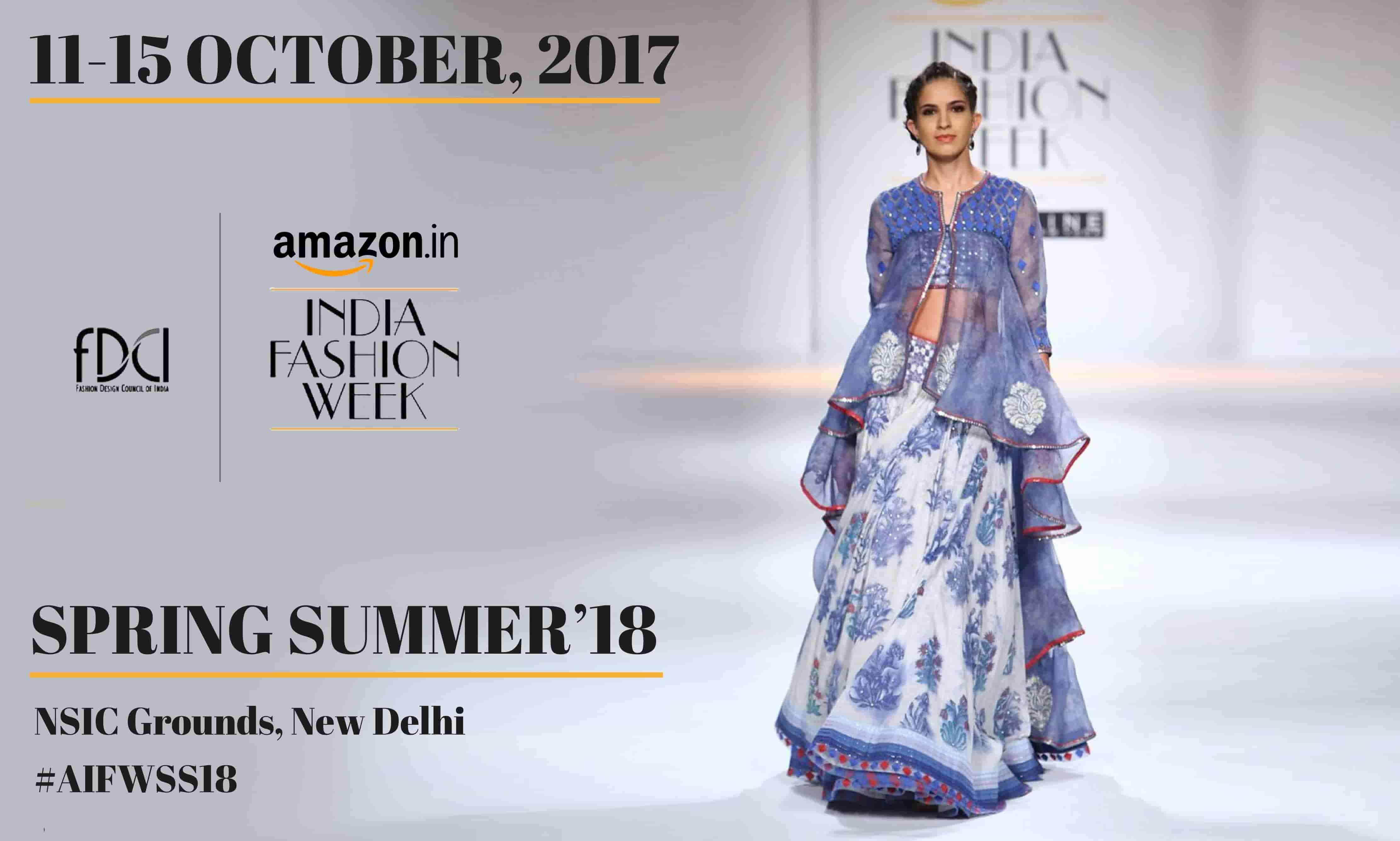 956e3cd0e أسبوع أمازون الهند للموضة | Fashion Business Services
