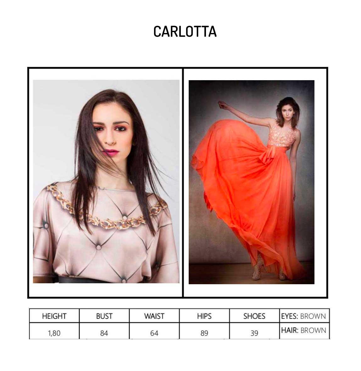 Model Carlotta Portfolio