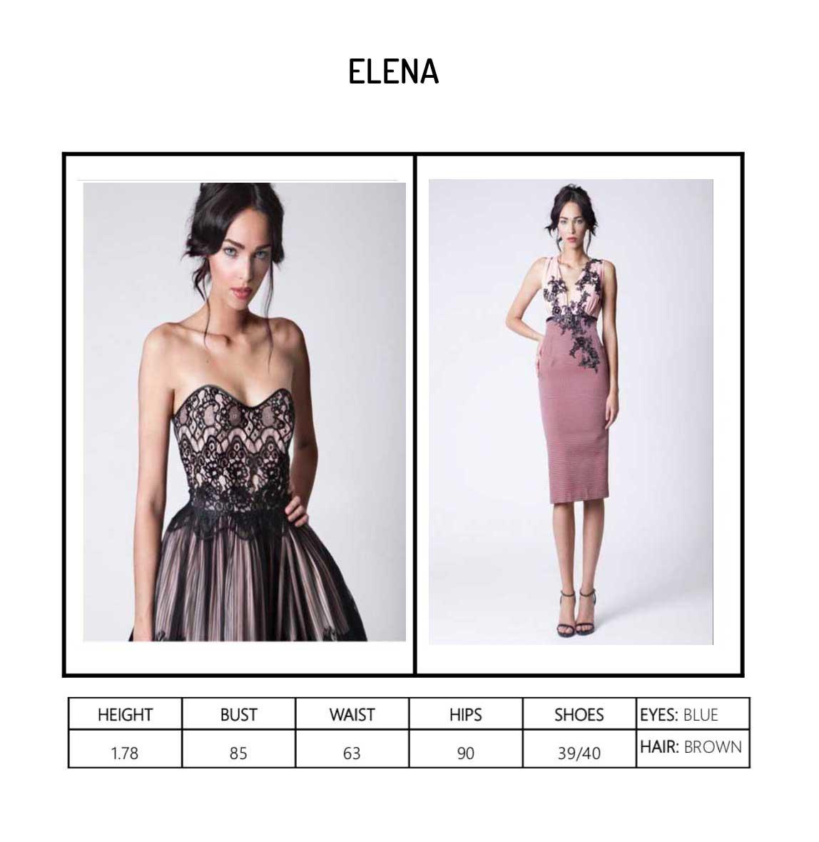 Model Elena Portfolio