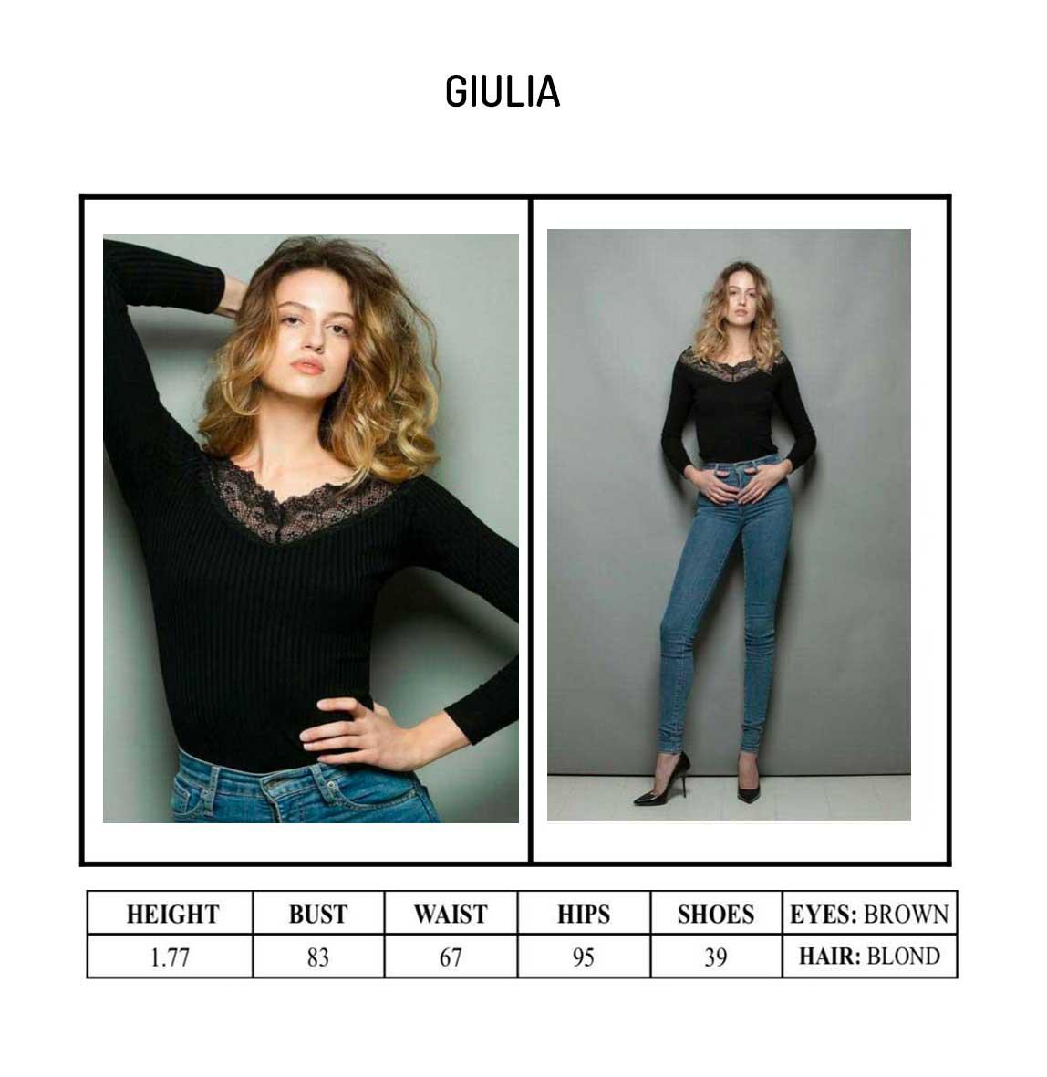 Model Giulia Portfolio