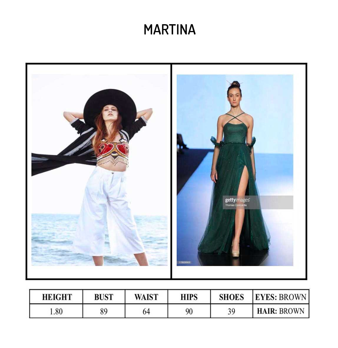 Model Martina Portfolio