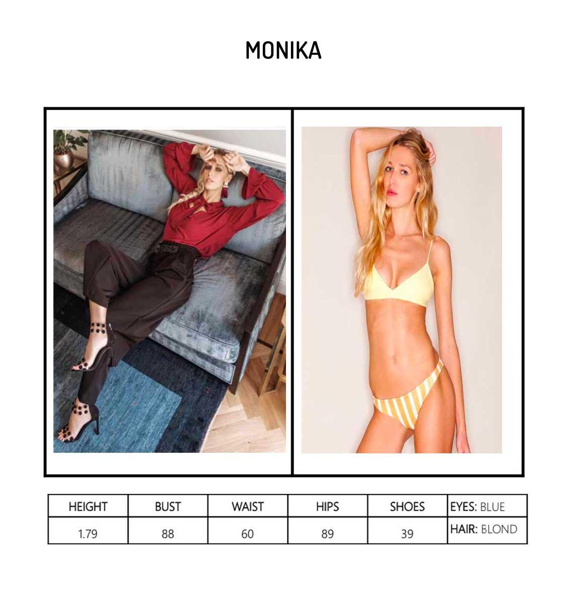 Model Monika Portfolio
