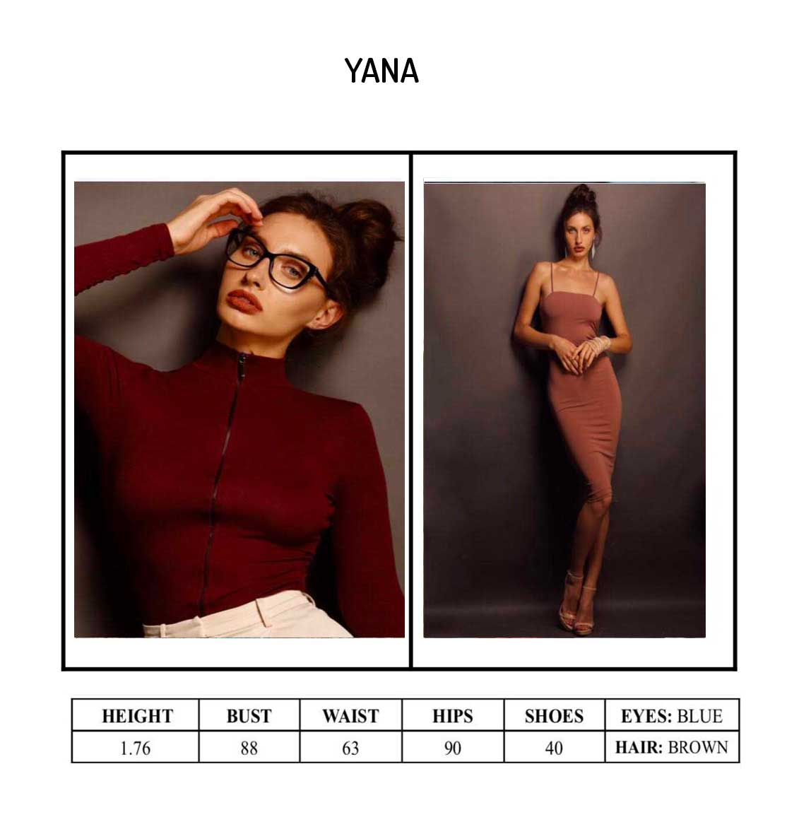 Model Yana Portfolio