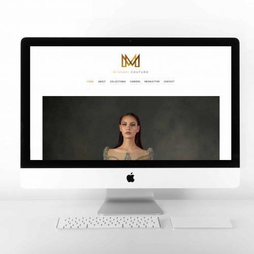 Missaki Couture Brand Website