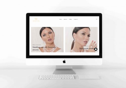 Wafiya Jewels Design Website