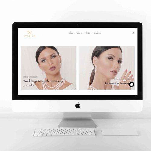 Wafiya Jewels Design Website