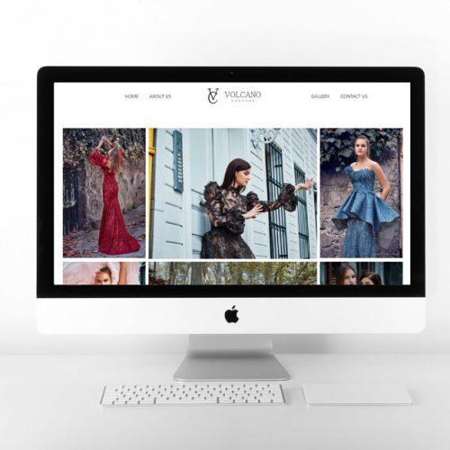 Volcano Couture Portfolio Design